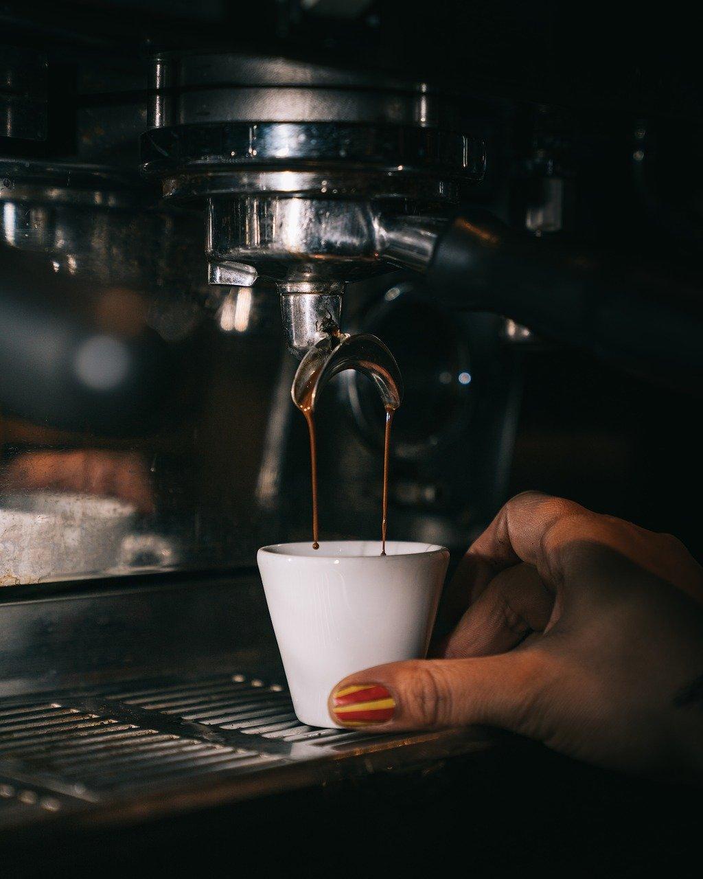 coffee, espresso, coffee machine